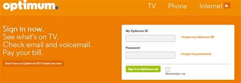 optimum customer service phone number cablevision my optimum account registration on www optonline net