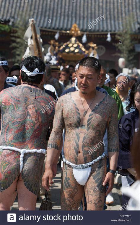 members   japanese yakuza  sanja matsuri tokyo