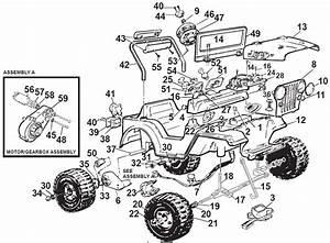 Power Wheels Barbie Lil Beach Buggy Parts