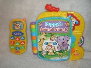 fisher price laugh learn puppy s animal friends fisher price learning phone ebay
