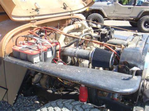 4bt cummins twin turbo purchase new 1984 jeep cj7 laredo 4bt cummins np 435 4