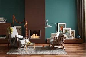farbsicherheit die schoner wohnen trendfarben bild 15 With balkon teppich mit weiße tapete ohne streichen