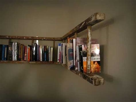 vintage ladder shelf how to decorate with vintage ladders 20 ways to inspire 3231