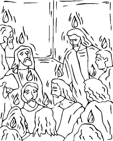 Pinksteren Kleurplaat by Www Christiancomputergames Net Pinksterdag Vuur Op Hoofden