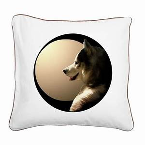 siberian husky pillows sled dog canvas pillow by husky gifts With canvas dog pillow
