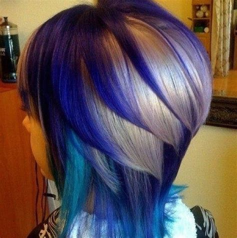 Peacock Hair Color Hair Pinterest