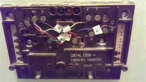 Heat Pump Wiring Help For Honeywell Rth6500wf