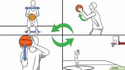 Basket Shoot Basketball Shooting Bola Teknik Jump