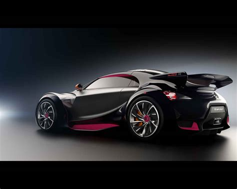 Citroën Survolt Electric Sports Car Concept 2010