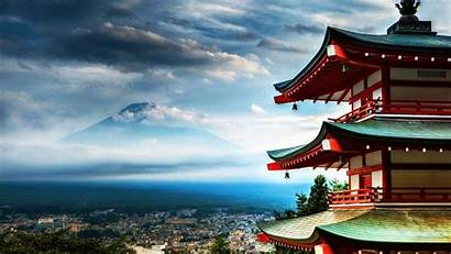 Landscape Japanese Japan Wallpapers Awesome