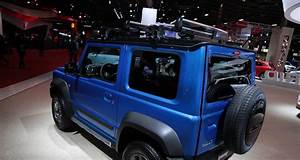 Nouveau Suzuki Jimny 2018 : mondial de l auto 2018 suzuki jimny pr sentation et photos ~ Medecine-chirurgie-esthetiques.com Avis de Voitures