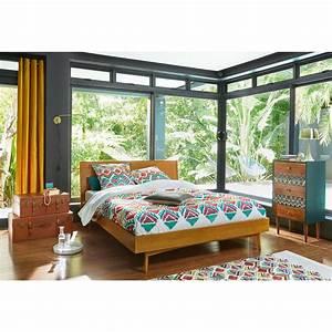 Vintage Bett Aus Eiche 180x200 Portobello