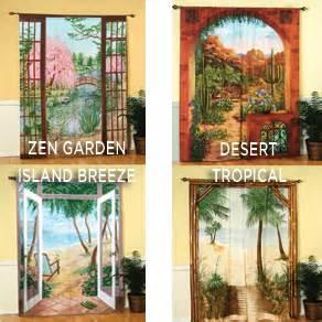 light house curtain panel curtain design