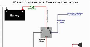 Electrical Relay Wiring Diagram For Distributor