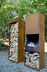 Range Bois Exterieur : rangement bois id es cr atives pour l 39 int rieur et l ~ Edinachiropracticcenter.com Idées de Décoration