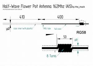 Bazooka Antenne Berechnen : homemade flower pot antenne f r ais 162mhz muck solutions ~ Themetempest.com Abrechnung