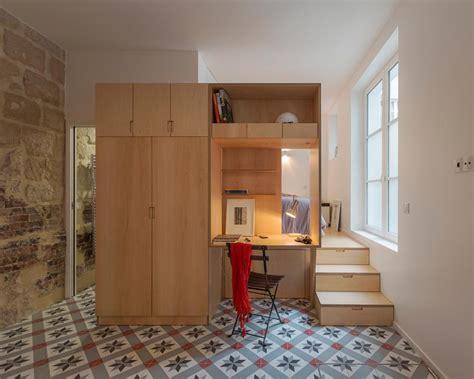 Tiny One Bedroom Studio Apartment Full Of Parisian Charm