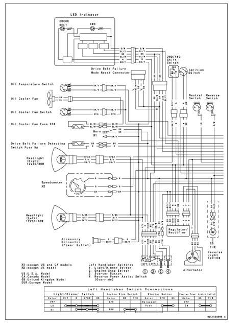 kawasaki  wiring diagram wiring library