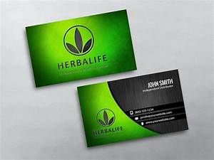 Herbalife business cards for Herbalife business card template