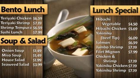 cuisine tv menut restaurant yamato sushi resaurant digital signage menu
