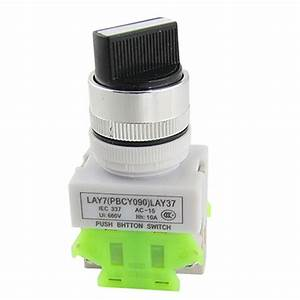 Buy Uxcell 660v 125a On  Off  On 3 Position Rotary Cam