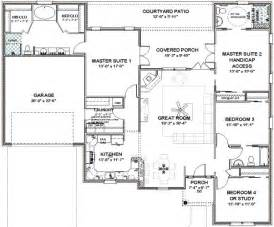 master bedroom floor plans floor plans two master suites free home design ideas images