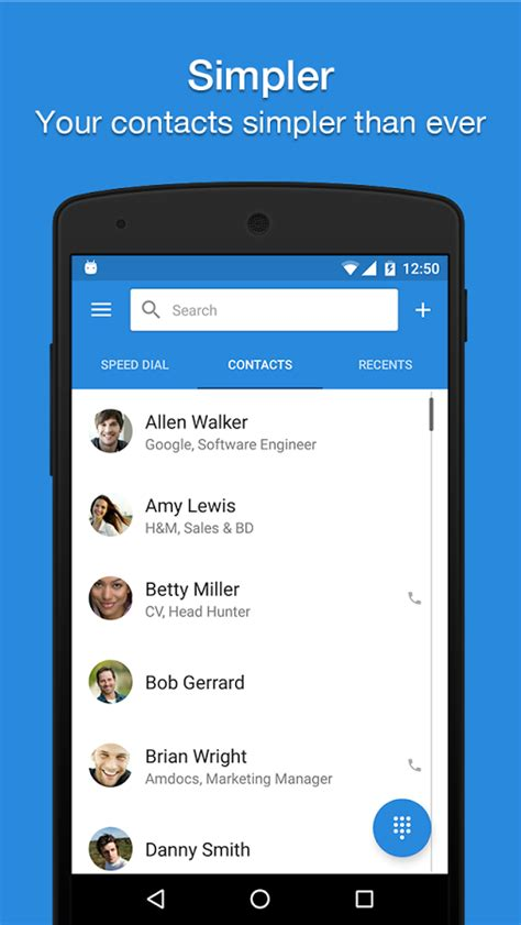 contacts app for android contacts apps for android it will help you sort out your