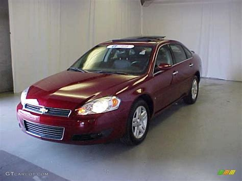 2007 Red Jewel Tint Coat Chevrolet Impala Ltz #32178366