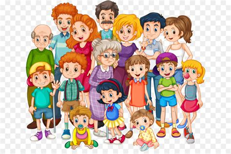 Extended family Clip art Family png download 700*590