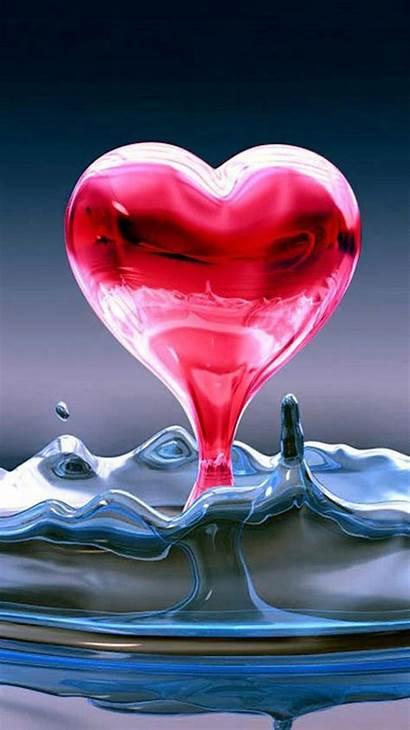 Cool Iphone Heart Wallpapers Liquid Livewallpaperhd Backgrounds