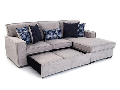 bibler reversible sectional  ottoman sofa goc