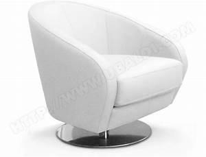 Design Fauteuil Pas Cher : fauteuil poldem camaro fauteuil pivotant cuir blanc pas cher ~ Teatrodelosmanantiales.com Idées de Décoration
