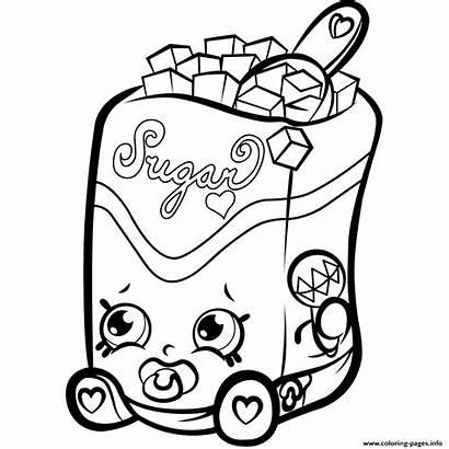 Coloring Shopkins Season Sugar Pages Lump 1s