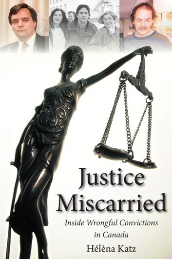 Justice Miscarried Ebook By Helena Katz 9781459700321