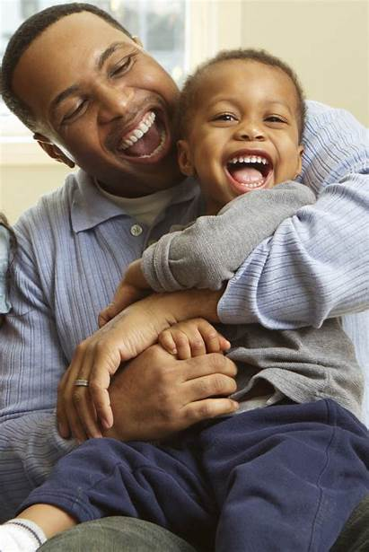 Father Single Child Son Laughing Dad Adams