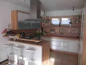 Küchen Mit Bar : k chen mit bartheke ~ Markanthonyermac.com Haus und Dekorationen