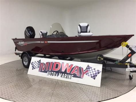 Cabelas Dundee Used Boats by Alumacraft Escape 165 Cs Boats For Sale Boats