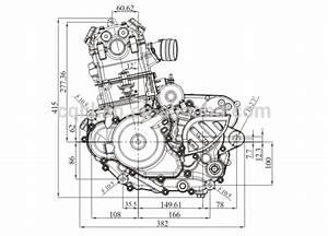 Nc250 4 Valve 250cc Zongshen Engine Manual Clutch For