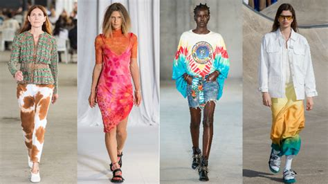 Tiedye Is Covering The Spring 2019 Runways Fashionista
