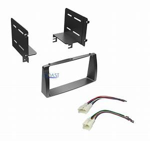 Double Din Car Radio Stereo Dash Kit Wire Harness For 2003