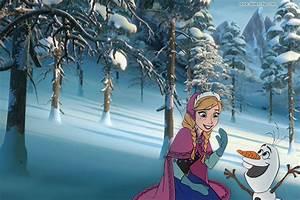 Disney's Frozen Wallpaper | Disneyclips.com