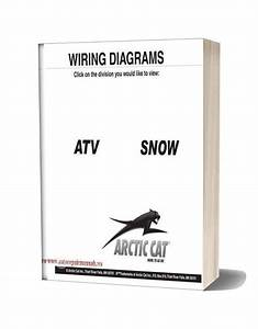 Arctic Cat 2000 Thru 2009 Atv And Snowmobilesnow Wiring