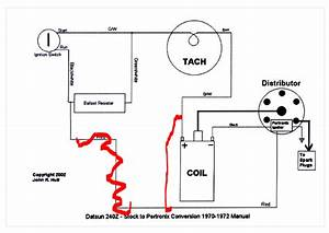 240z Pertronix Wiring Diagram   29 Wiring Diagram Images