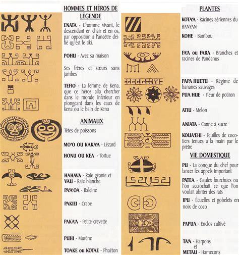 symbole des tatouage marquisien marquisien maori tatouages marquisiens