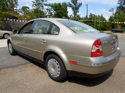 Buy Used 2004 Tdi Volkswagen Passat Gl Sedan 4-door 2.0l