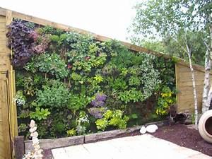 Mur Vegetal Exterieur : differentes deco de jardin tardivel davids jimdo page ~ Melissatoandfro.com Idées de Décoration