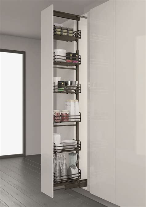 Elite 300mm Pull Out Larder Unit   Doors and Handles UK