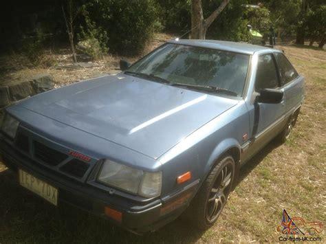 mitsubishi cordia for sale mitsubishi cordia gsr turbo 1984 3d hatchback manual 1 8l