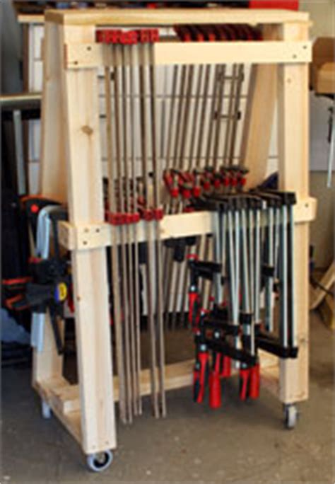 building  newwoodworkercom mobil clamp rack woodworking info tips tool reviews