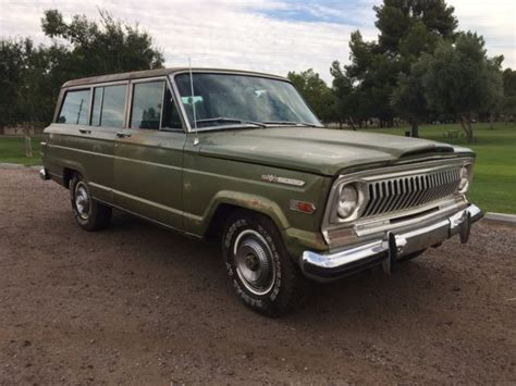 1970 jeep grand wagoneer 1970 jeep wagoneer arizona survivor